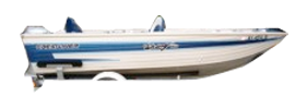 V160 Viking Dlx Outboard Crestliner Bimini Tops | Custom Sunbrella® Crestliner Covers | Cover World
