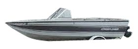 V165 Mirage Outboard Crestliner Bimini Tops | Custom Sunbrella® Crestliner Covers | Cover World