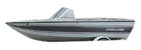 V165 Mirage Sterndrive Crestliner Boat Covers | Custom Sunbrella® Crestliner Covers | Cover World