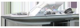 V170 Maverick DC Outboard Crestliner Boat Covers | Custom Sunbrella® Crestliner Covers | Cover World