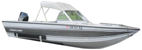 V170 Phantom Outboard Crestliner Boat Covers | Custom Sunbrella® Crestliner Covers | Cover World