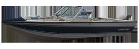 V170 Phantom Sportfish Outboard Crestliner Boat Covers | Custom Sunbrella® Crestliner Covers | Cover World