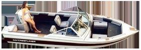 V175 Phantom Sabre Sterndrive Crestliner Boat Covers | Custom Sunbrella® Crestliner Covers | Cover World