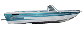 V175 Phantom Sportfish Sterndrive Crestliner Boat Covers | Custom Sunbrella® Crestliner Covers | Cover World