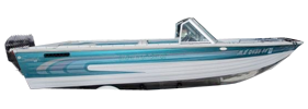 V175 Sportfish Outboard Crestliner Boat Covers | Custom Sunbrella® Crestliner Covers | Cover World