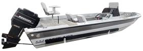 V180 Maverick DC Outboard Crestliner Boat Covers | Custom Sunbrella® Crestliner Covers | Cover World