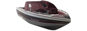 V180 Phantom Sportfish Sterndrive Crestliner Boat Covers | Custom Sunbrella® Crestliner Covers | Cover World