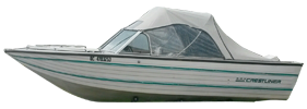 V180 Phantom Sst Outboard Crestliner Bimini Tops | Custom Sunbrella® Crestliner Covers | Cover World