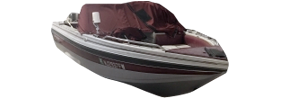 V180 Sportfish Outboard Crestliner Boat Covers | Custom Sunbrella® Crestliner Covers | Cover World