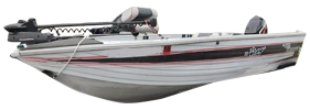 V180 Viking Dlx Outboard Crestliner Bimini Tops | Custom Sunbrella® Crestliner Covers | Cover World