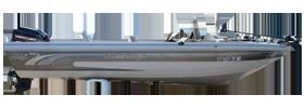 V1810 Pro AM Tiller Outboard Crestliner Boat Covers | Custom Sunbrella® Crestliner Covers | Cover World