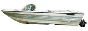 V185 Phantom Sterndrive Crestliner Bimini Tops | Custom Sunbrella® Crestliner Covers | Cover World