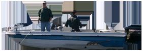 V1850 Pro AM Tiller Outboard Crestliner Boat Covers | Custom Sunbrella® Crestliner Covers | Cover World