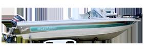 V196 Phantom SST II Outboard Crestliner Boat Covers | Custom Sunbrella® Crestliner Covers | Cover World