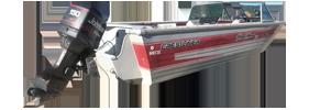 V196 SST II CC Outboard Crestliner Boat Covers | Custom Sunbrella® Crestliner Covers | Cover World