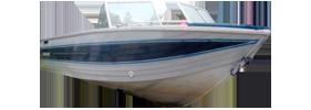 V200 Sabre CC Outboard Crestliner Boat Covers | Custom Sunbrella® Crestliner Covers | Cover World