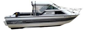 V205 Sabre Runabout Sterndrive Crestliner Boat Covers | Custom Sunbrella® Crestliner Covers | Cover World