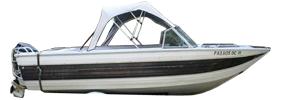V206 Phantom SST II Outboard Crestliner Boat Covers | Custom Sunbrella® Crestliner Covers | Cover World