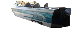 V216 Phantom Sst Outboard Crestliner Bimini Tops | Custom Sunbrella® Crestliner Covers | Cover World