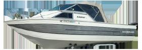 V220 Sabre Runabout Outboard Crestliner Boat Covers | Custom Sunbrella® Crestliner Covers | Cover World