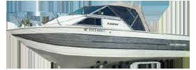 V220 Sabre Runabout Sterndrive Crestliner Boat Covers | Custom Sunbrella® Crestliner Covers | Cover World