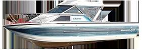 V220 Sabre WAC Sterndrive Crestliner Boat Covers | Custom Sunbrella® Crestliner Covers | Cover World