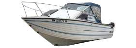 V225 Sabre GL Sportfish Outboard Crestliner Boat Covers | Custom Sunbrella® Crestliner Covers | Cover World