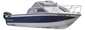 V225 Sabre Runabout Outboard Crestliner Boat Covers | Custom Sunbrella® Crestliner Covers | Cover World