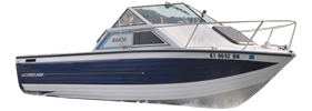 V225 Sabre Runabout Sterndrive Crestliner Boat Covers | Custom Sunbrella® Crestliner Covers | Cover World