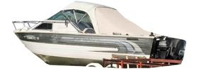 V225 Sabre Sterndrive Crestliner Boat Covers | Custom Sunbrella® Crestliner Covers | Cover World