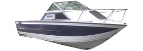 V225 Sabre WAC Sterndrive Crestliner Boat Covers | Custom Sunbrella® Crestliner Covers | Cover World
