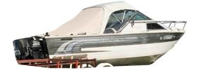 V2250 Sabre Sterndrive Crestliner Boat Covers | Custom Sunbrella® Crestliner Covers | Cover World