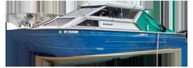 V240 Sabre GL Sportfish Outboard Crestliner Boat Covers | Custom Sunbrella® Crestliner Covers | Cover World