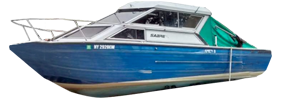 V240 Sabre GL Sportfish Sterndrive Crestliner Boat Covers | Custom Sunbrella® Crestliner Covers | Cover World