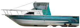 V245 Eagle Sterndrive Crestliner Boat Covers | Custom Sunbrella® Crestliner Covers | Cover World