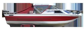 V245 Sabre GL Sportfish Outboard Crestliner Boat Covers | Custom Sunbrella® Crestliner Covers | Cover World