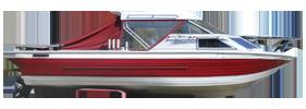 V245 Sabre GL Sportfish Sterndrive Crestliner Boat Covers | Custom Sunbrella® Crestliner Covers | Cover World