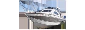 V245 Sabre Crestliner Boat Covers | Custom Sunbrella® Crestliner Covers | Cover World