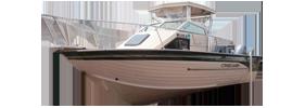 V256 Eagle SST II Outboard Crestliner Boat Covers | Custom Sunbrella® Crestliner Covers | Cover World