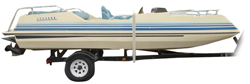 Deck Boat with Low Rails Deck Boat Covers | Custom Sunbrella® Deck Covers | Cover World