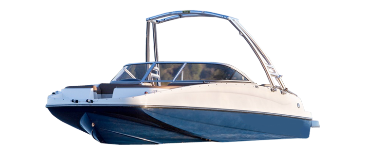 Deck Boat with Tower - Over-the-Tower Cover Deck Boat Covers | Custom Sunbrella® Deck Covers | Cover World