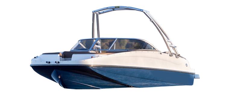 Deck Boat with Ski Tower Ski & Wakeboard Boat Covers | Custom Sunbrella® Ski & Wakeboard Covers | Cover World