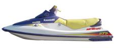 750 STS Kawasaki Jet Ski Covers | Custom Sunbrella® Kawasaki Covers | Cover World