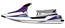 TS 650 Tandem Sport Kawasaki Jet Ski Covers | Custom Sunbrella® Kawasaki Covers | Cover World
