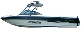 Escape Sport LSV Malibu Boat Covers | Custom Sunbrella® Malibu Covers | Cover World