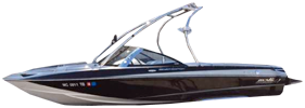 Response LXI SE Malibu Boat Covers | Custom Sunbrella® Malibu Covers | Cover World