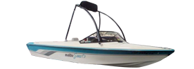 Skier 195 Euro F-3 Malibu Boat Covers | Custom Sunbrella® Malibu Covers | Cover World