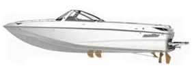 Sunscape 20 LSV Malibu Boat Covers | Custom Sunbrella® Malibu Covers | Cover World