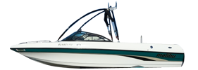 Sunscape 21 LSV Malibu Boat Covers | Custom Sunbrella® Malibu Covers | Cover World