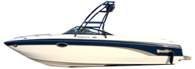Sunscape 25 LSV Malibu Boat Covers | Custom Sunbrella® Malibu Covers | Cover World